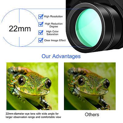 Day/Night 180x100 Military Zoom Powerful Binoculars Optics Hunting Camping+Case 5