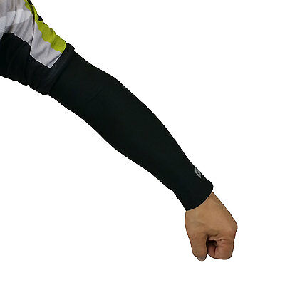 1 Pair Cooling Arm Sleeves Cover UV Sun Protection Outdoor Sports Unisex XERU