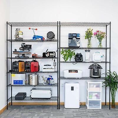 COMMERCIAL 4/5/6 TIER Storage Rack Organizer Kitchen ...