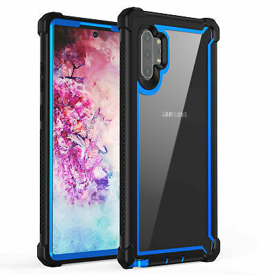 For Samsung Galaxy Note 10 Plus Shockproof Protective Case Rugged Hybrid Cover 12
