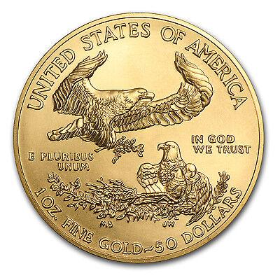 2017 1 oz Gold American Eagle Brilliant Uncirculated - SKU #117271 2