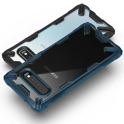 For Samsung Galaxy S10 Plus Case Ringke [FUSION-X] Shockproof Armor Bumper Cover 6