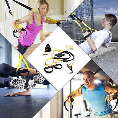 Bodyweight Fitness Resistance Trainer Kit - Suspension Workout - Indoor/Outdoor 2