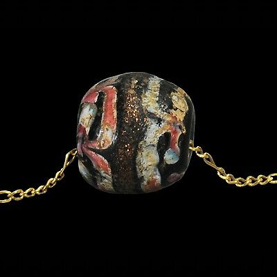 Ancient Eastern Mediterranean  Bead And Gold Necklace 2