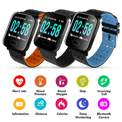 Fitness Smart Watch Activity Tracker WomenMen Kid Fitbit Android iOS Heart Rate# 11