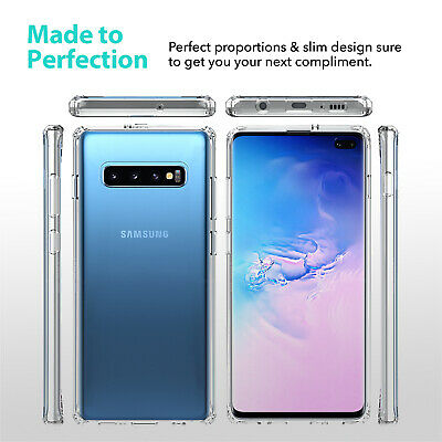 Samsung Galaxy S10 5G S10e S9 S8 Plus Case Clear Heavy Duty Shockproof Cover 4