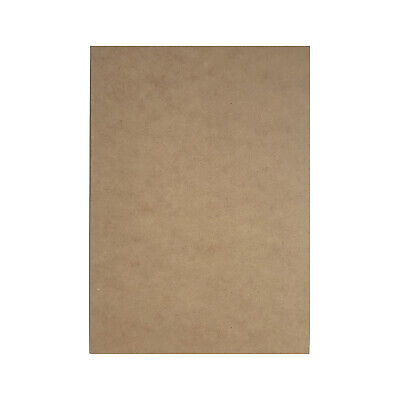 MDF Backing Board Panels for Framing, Art, Painting - A4 PACK OF 10 2