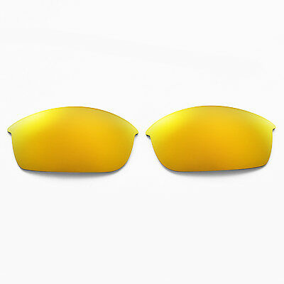 2ed5d721ae ... WL Polarized 24K Gold Replacement Lenses And Rubber Kit For Oakley Flak  Jacket 3