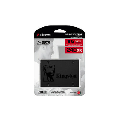 "Kingston SSD 120GB 240GB 480GB 2.5"" SATA Internal Solid State Drive A400 500MB/s 7"