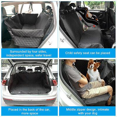 MAX Auto Hundedecke Autoschondecke Schutzdecke Tiere Rücksitzschutz 140X137X40cm 9