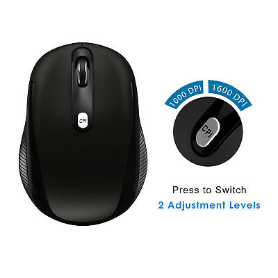 ee3295a5ecb ... JETech 2.4Ghz Wireless Mobile Optical Mouse with 2 CPI Levels and USB  Receiver 2