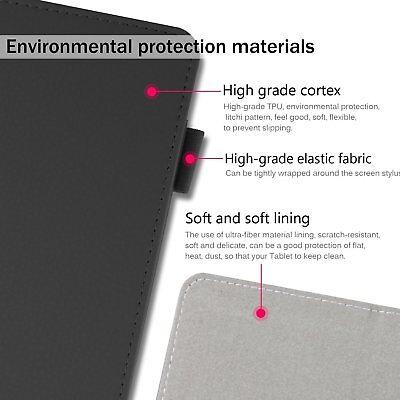 For Lenovo Tab E7 E8 Folding Stand PU Leather Business Heavy Duty Case Cover 7