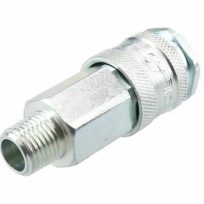 """PCL XF Series Female Coupler 1/4"""" BSP Male Thread & Male Fitting Air Adaptor 7"""