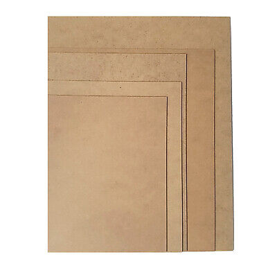 """MDF Backing Board Panels for Framing, Art, Painting - 9 x 7"""" PACK OF 10 4"""