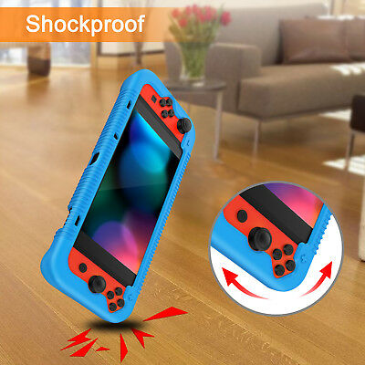 For Nintendo Switch Console Joy-Con Silicone Case Soft Shock Proof Grip Cover 6
