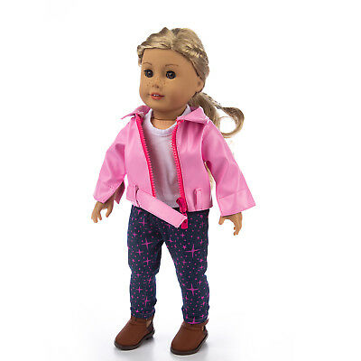 Doll Dress Mix Clothes Coat Pants Outfits Skirt For America 18 Inch Girl Dolls 10