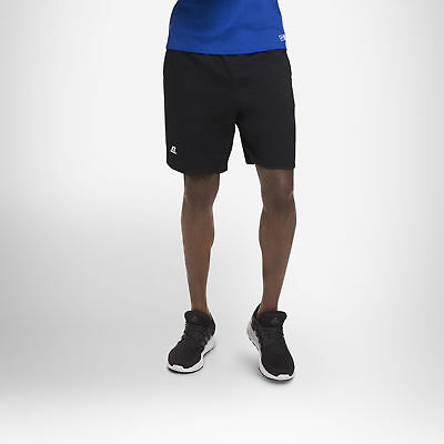 Russell Athletic Men's Cotton Performance Baseline Short with Pockets 7
