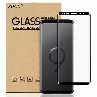 VITRE VERRE TREMPE SAMSUNG S8 S9 S10 Plus Edge FILM PROTECTION ECRAN 3D TOTAL 9