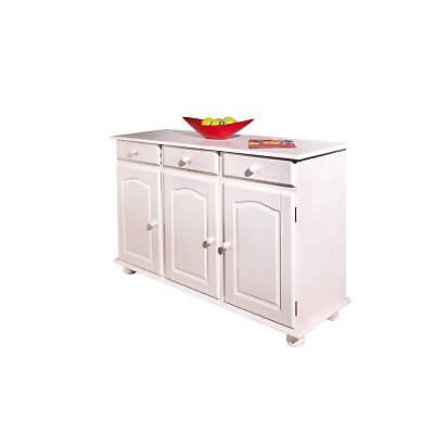 Commode Bahut Buffet Console Meuble De Rangement Cuisine Salle A