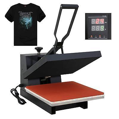 "15""X15"" DIY Digital Clamshell T-shirt Heat Press Machine Sublimation Transfer 3"