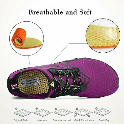Water Shoes Barefoot Skin Socks Quick-Dry Aqua Beach Swim Water Sports Vacation 4