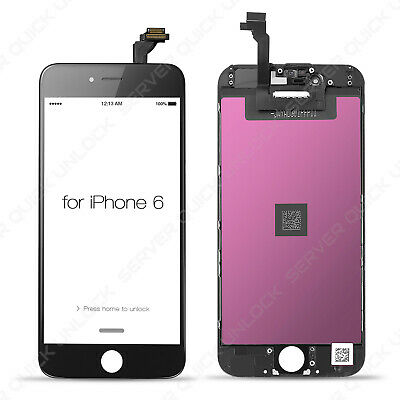 Pantalla Completa para Iphone 6 Negra Negro Tactil Digitalizador + LCD + Marco 3