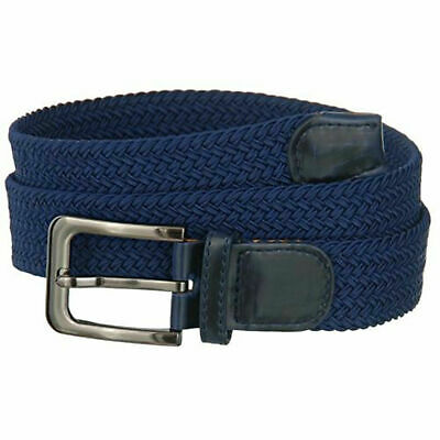 """Premium Men's Braided Stretch Belts - Comfortable Golf Belt 1.5"""" New Without Tag 5"""