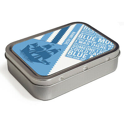 Retro Football Tobacco Tin 2oz Baccy Storage Personalised Gift - All Teams 4