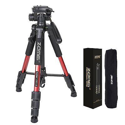 1 sur 9Livraison gratuite Q111 Trépied Professionnel pour Appareil Photo Reflex  Numérique DSLR SLR(Rouge) f716628be6cd