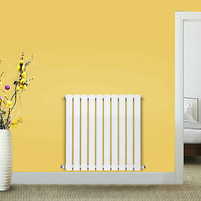 Vertical Designer Radiator Oval Column Tall Upright Central Heating Radiators UK 5