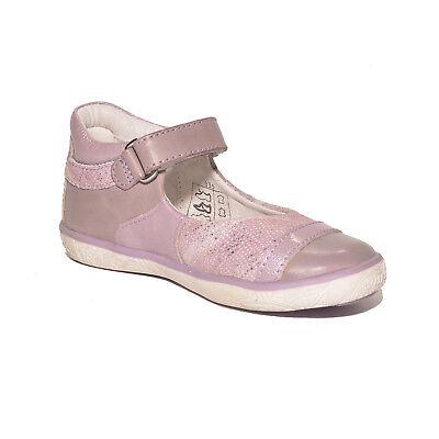 Noel Girls Mini Alize Lilac Leather High Back Shoes UK 7 EU 24 US 7.5 RRP £45.00 4