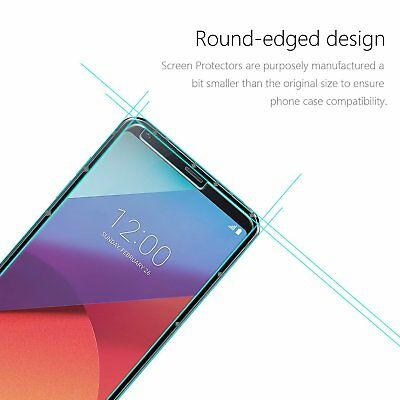 2x LG G6 Tempered Glass / Pet Screen Protector Film Guard LCD Protector 6