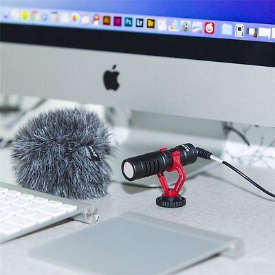 "BOYA Cardiod Shotgun Microphone MIC Video for Smartphone DSLR ""US Seller"" 8"