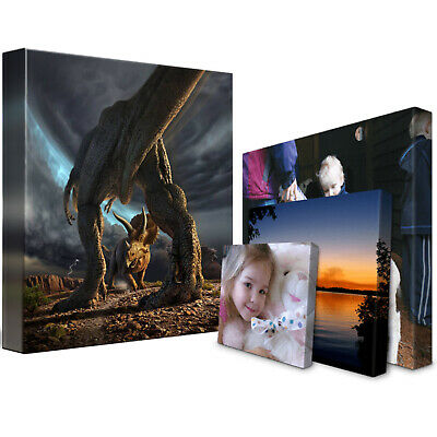 Personalised Canvas Print. Your Photo/Image Printed & Box Framed 5