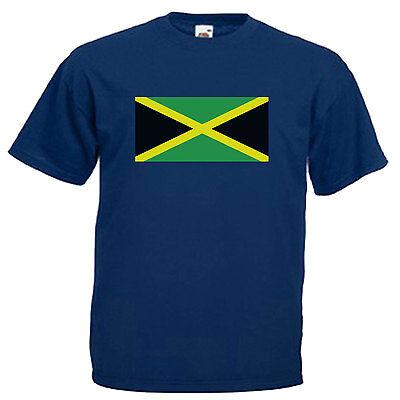 Jamaica Flag Children's Kids T Shirt 6