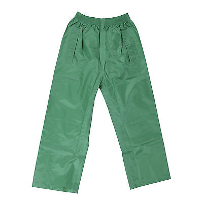 DRY KIDS Waterproof Over Trousers Rain Children Boys & Girls Childs age 2-13 4