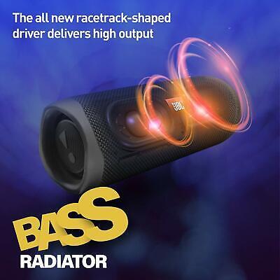 JBL Flip 5 Portable Waterproof Bluetooth Speaker - Black 7