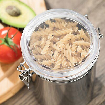 Stainless Steel Air Tight Canister 64 fl oz - Food & Coffee Storage Container 6