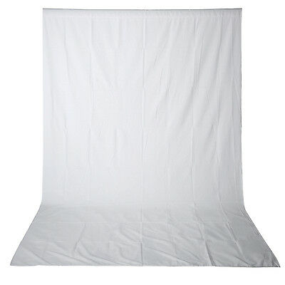 Neewer 9.8 x19.7ft Collapsible White Studio Muslin Backdrop Background 2
