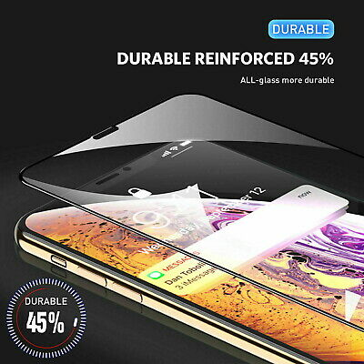 Screen Protector for New iPhone 11,11 PRO MAX Curved Full Cover Tempered Glass 4