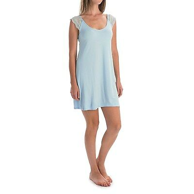 Laura Ashley Womens Stretchy Chemise Lace Night Gown Dress Pajamas NEW 3