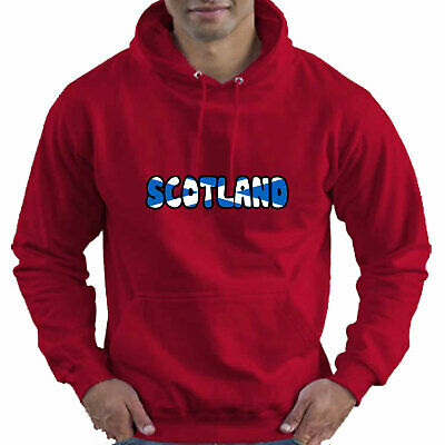 Scotland Scottish Flag Childrens Childs Kids Boys Girls Hoodie Hooded Top 10