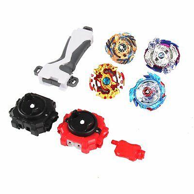 4x Beyblade Burst Arena Metal Set Gyro Fighting Gyroscope Launcher Spinning Toys 8