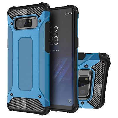 9667c68550a ... Hybrid Armor Shockproof Rugged Bumper Case For Samsung Galaxy S7 Edge  S8 Note S9 12