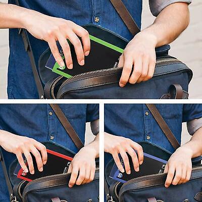 Numbered Travel RFID Sleeves Set -14 Credit Card Protectors & 5 Passport Holders 4