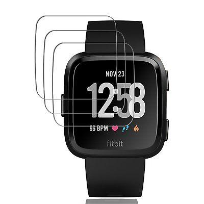 5x Tempered Glass Screen Protector Film Guard For Fitbit Versa /Versa Lite 2
