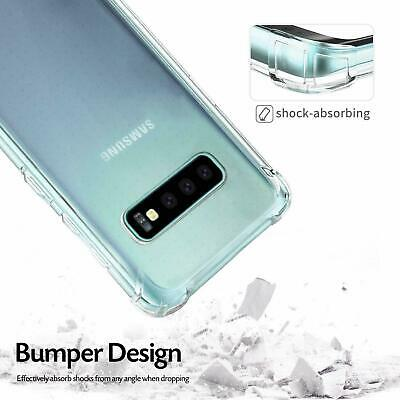 Samsung Galaxy S10e S10 S8 S9 Plus Note 9 10+ Clear Case Shockproof Bumper Cover 6