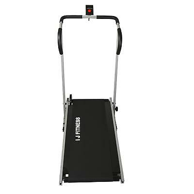Manual Treadmill Walking Running Cardio Portable Incline Fitness Workout 6