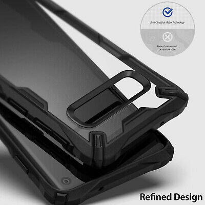 Galaxy S10 S10e S10+ Plus Case Genuine RINGKE FUSION X Clear Cover For Samsung 5