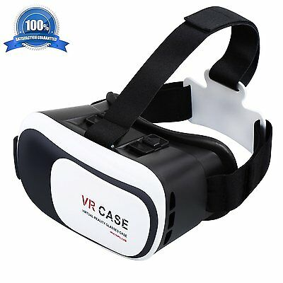 Virtual Reality VR Headset 3D Glasses With Remote for Android IOS iPhone Samsung 2